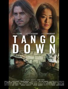 the official poster for the film Tango Down