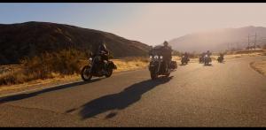 screenshot of the bikers riding in Tango Down