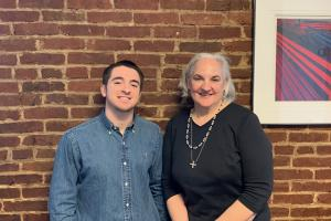 Alex Baider, Regional Sales Manager and Wanda Stoltzfus, Account Management Specialist