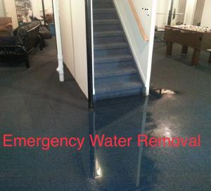 Water damage needs water restoration service