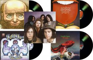 Gentle Giant's First 4 Albums