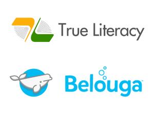 True Literacy and Belouga logos