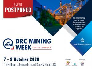 DRC Mining Week - Postponed to 7-9 October 2020