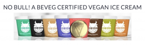 Global Ice Cream Brand gains use of the only global law-firm-issued vegan symbol.