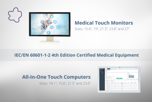 Medical Monitor and AIO Computers