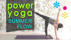 Power yoga for Summer / Summer Yoga Workout 2020