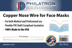 Copper Nose Wire for Face Masks