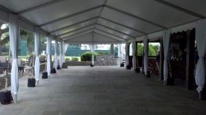 pole covers for tent rentals