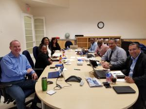 Picture of Smart Solution and COKCU team members at a planning session