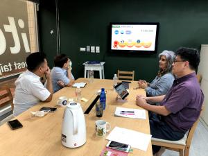 AirSpeQ from Berkeley, CA and Talents Taipei organized meetings at Invest Taipei Offices in Taipei