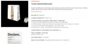 declare formaspace markerboard