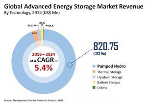Advanced Energy Storage Market Share