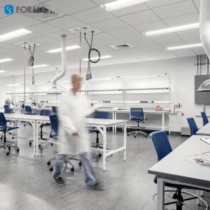 wet lab installation