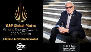 Dr. El-Ramly, Finalist for Platts Global Energy Awards 2020