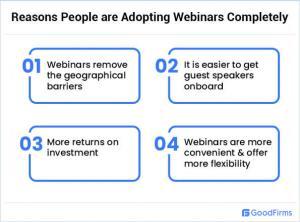 Reasons to Adopt Webinars