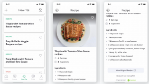 Edamam delivers recipes to Fresh Tri to use in its helathy habit formation platform.
