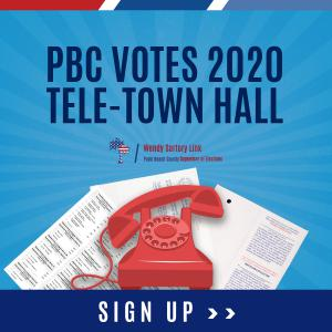 Palm Beach County Supervisor of Election Tele-Town Hall
