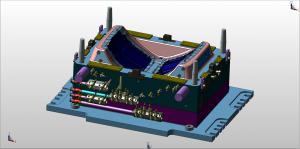 "Automotive injection mold 3D design ""faces colors"" MBD ""digital thread"""