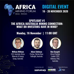 """The upcoming Africa Mining Forum will shine a spotlight on the """"Africa-Australia mining connection"""" and look at what prospective investors are looking for."""