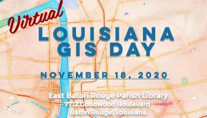 Louisiana GIS Day November 18