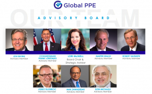 Picture of Global PPE's Advisory Board.