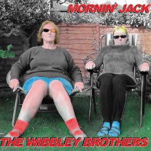 The striking cover of The Wibbley Brothers' new album