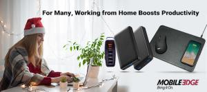 Mobile Edge makes it easier than ever to get cool must-have tech for home office professionals and executives