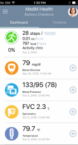 MedM Health - the best free mobile health diary