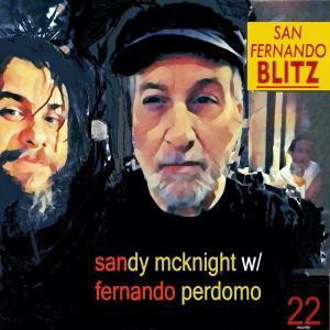 Sandy McKnight with Fernando Perdomo - San Fernando Blitz Cover