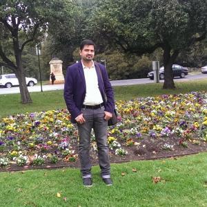Pradeep Balasubramanian of Dubai