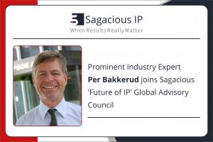 Per Bakkerud joins Sagacious 'Future of IP' Global Advisory Council