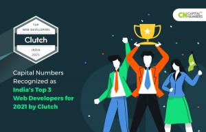 Capital Numbers is recognized as a top-ranking company in the web development space for 2021 by Clutch