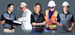 project manager, field technician, female engineer, safety supervisor, and thermal remediation expert
