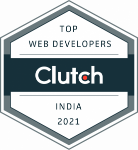 Ranked as Web Development firm on Clutch