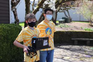 ZipBag team members