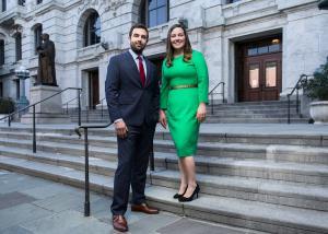 Everett Fineran and Jessica Roberts, Attorneys at Frilot, LLC