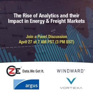 A joint panel discussion with ZE, Argus Media, Vortexa and Windward