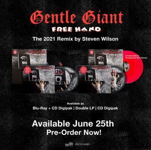 Gentle Giant - Free Hand Steven Wilson Remix Packshot
