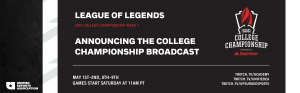 Unified Esports Association partners to produce the 2021 North America College League of Legends Championship 1