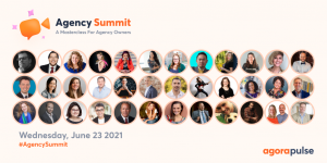 Agency Summit by Agorapulse speaker lineup.