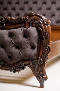 Hardwood Luxe Heirloom-Grade Bed