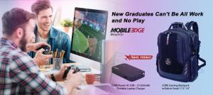 Graduates Can Organize, Protect, and Power Their Gaming Gear with Mobile Edge