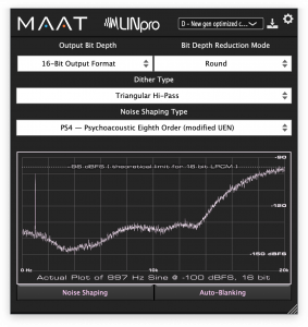 LINpro – the modern dithering plug–in from MAAT
