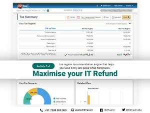 EZTax.in unleashes new IT filing features to help you save