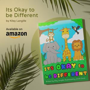 Kiley Langille Author of Its okay to be different