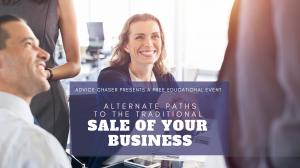 Webinar information for Advice Chaser's event on strategies for selling your business