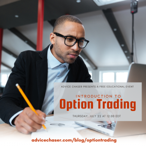 Advice Chaser's webinar will introduce you to foundational information about options trading.