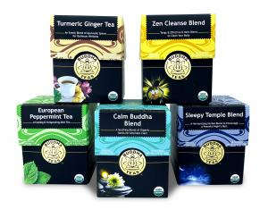Buddha Teas blends can soothe and comfort common travel troubles