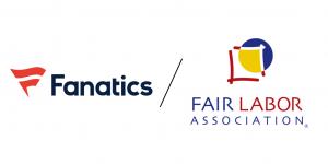 Fantatics Brands and Fair Labor Association logos