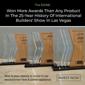 The International Builders' Show recognizes Enginuity's E ONE with three (3) awards - including 'Best in Show'!